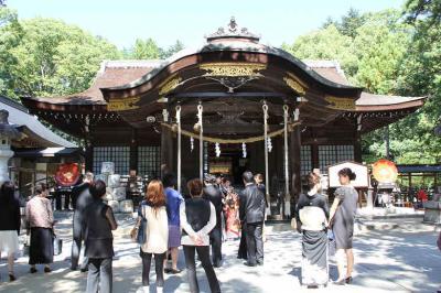 「 武 田 神 社 」 は 戦国武将 武田家三代当主の館 「武田氏館」 跡に 創建 ・ 「日本100名城」にも 選ばれています  甲府市 山梨県