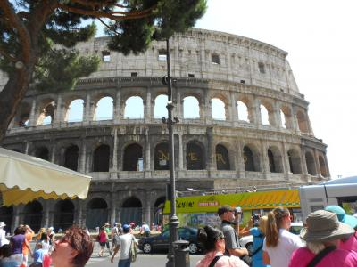 南イタリアぐるっと10日世界遺産の一人旅⑤・終~帰国へむけてローマの地