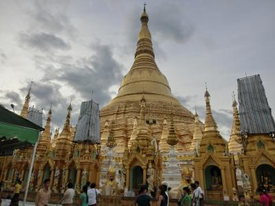 沖縄経由でバンコク・ヤンゴンの旅3(ヤンゴン観光1)