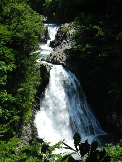 日本の滝百選『法体の滝』はさすがに素晴らしい滝でした~!◆2014年8月/山形・秋田・宮城の滝めぐり≪その3≫