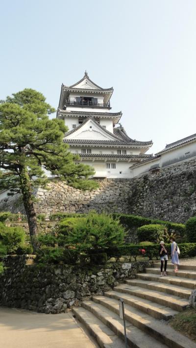 山内一豊の築いた高知城に登る