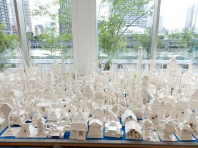 日本の旅 関西を歩く 大阪市福島区の堂島リバーフォーラムの『レゴブロック』で作った世界遺産展 PART-3 その4