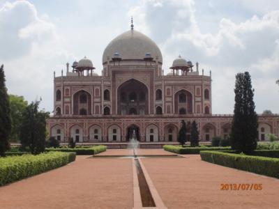 インド世界遺産の旅(8)世界遺産「フマユーン廟」。
