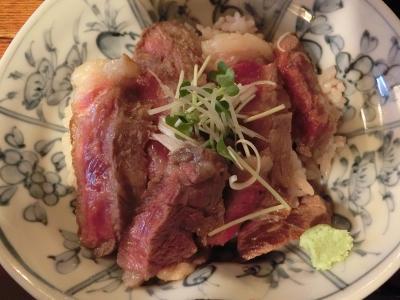 箱根 宮ノ下「いろり家」へステーキ丼を食べに行く!!