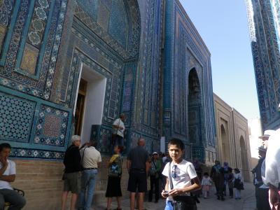2014秋ウズベキスタン(6)青いサマルカンド、もっと