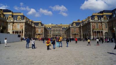 2014GW フランス・スペインの旅-5 フランス・ベルサイユ