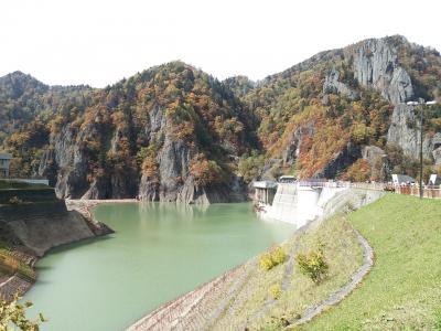 ちょこっと紅葉の豊平峡ダムと定山渓温泉宿泊♪