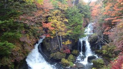 雨の奥日光・滝と紅葉巡り