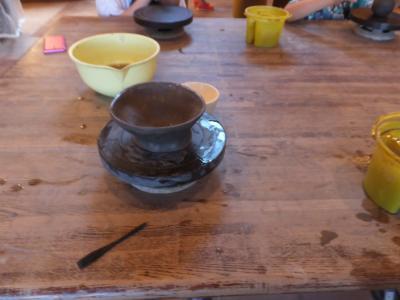 エクシブ初島での陶芸