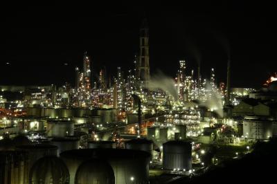 旅するイルカ♪ 工場夜景へ