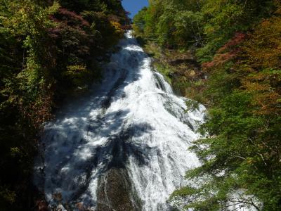 戦場ヶ原を歩いた、水量豊かな三つの滝に満足し、そして今市の地酒を味わった旅