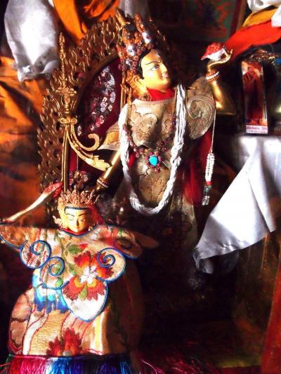 ザンスカール王国の秋  ゴンパ巡りと国王訪問