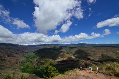 14'ハワイ個人手配の旅 カウアイ島  ワイメアキャニオン~食事