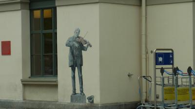 2014年スイス旅行(01)~2度目の滞在となったクールですが、土砂降りです