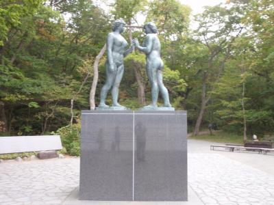 十和田湖の乙女の像を見に行ってきました。