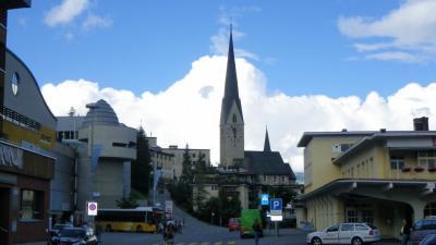 2014年スイス旅行(06)~雨が多かったなぁ…Davos