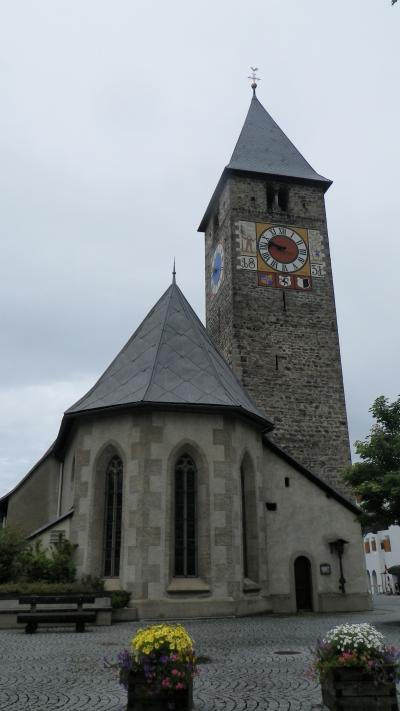 2014年スイス旅行(08)~天気が良くない…そうか、じゃぁ街のご紹介、Klosters