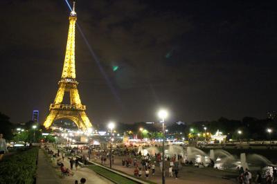 初めての海外一人旅 ツールドフランス2014パリゴール観戦&モンサンミッシェル ②