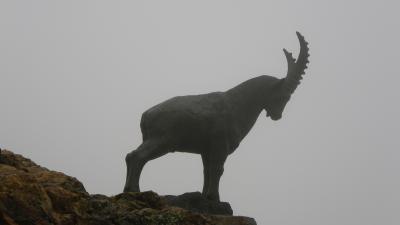 2014年スイス旅行(25)~3,000メートル越えれば何か見えるかと~Piz Nair
