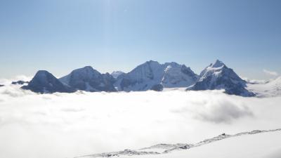 2014年スイス旅行(29)~移動前日、最後にもう一度、Corvatch展望台へ
