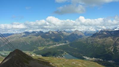 2014年スイス旅行(31)~移動前日、もう一度Piz Nair展望台