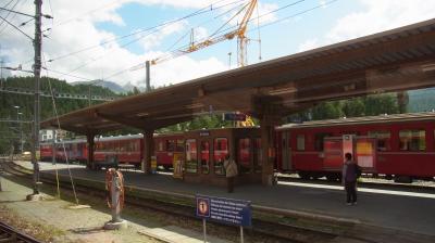 2014年スイス旅行(33)~Zürichに向けて、コースはZernez経由。
