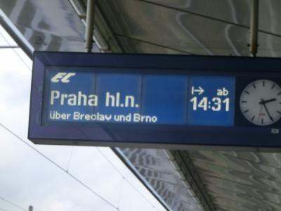 憧れのウィーン・プラハ旅行へ、中世気分の8日間。4日目はウィーン観光後プラハへ移動。