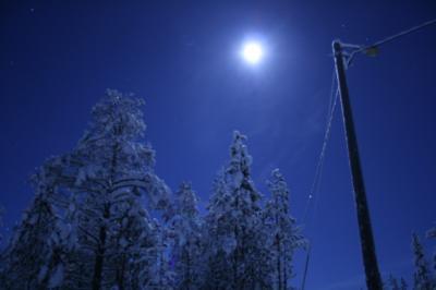 2007年 初めての北欧オーロラ