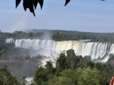 南米③  大瀑布 イグアスの滝 アルゼンチン側