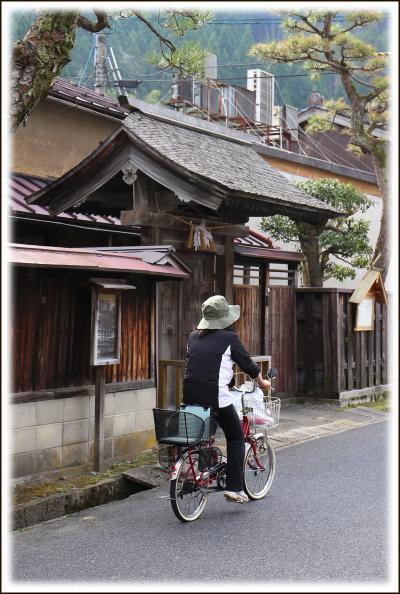Solitary Journey [1454] 旧街道沿いに情緒豊かな古い町並みが残っていました。<旧出雲街道宿場町「根雨(ねう)宿」>鳥取県日野郡
