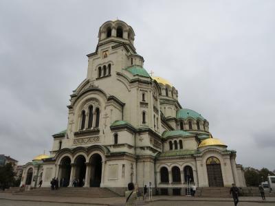 ドラキュラを探しに♪ブルガリア&ルーマニア8日間☆その2☆ソフィア①~美しいアレクサンダル・ネフスキー寺院に感激ヽ(^o^)丿