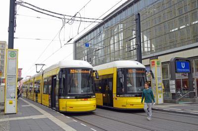北ドイツ・ポーランド 路面電車&蒸気機関車の旅(1日2日目ドーハ~ベルリン)