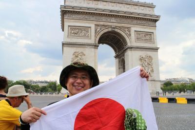 初めての海外一人旅 ツールドフランス2014パリゴール観戦&モンサンミッシェル ④