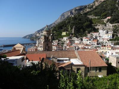 2014年10月イタリア定番コース個人旅行10日間、ナポリ&アマルフィ&ポンペイ編