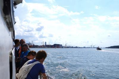 海洋都市メーメルことクライペダ、船に乗ってネリンガへGo!~2014年夏 バルト4国+ポーランド・WWⅡと独立の軌跡10