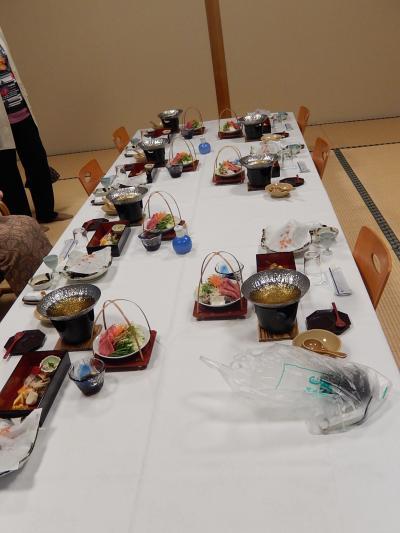 家族旅行で原鶴温泉へ①夕食会