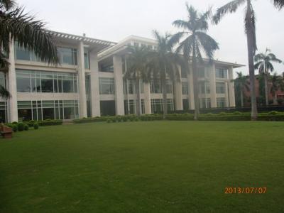 インド世界遺産の旅(27)アグラ「Jaypee Palace」ホテル内散歩。