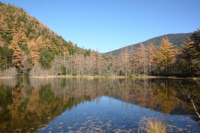 秋晴れ上高地を夫婦でまったりゆっくり散策した、4時間