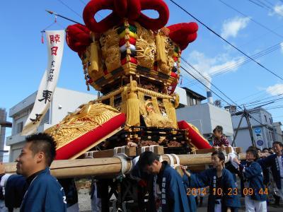 伊予三島(現 四国中央) 平成26年度 秋祭り