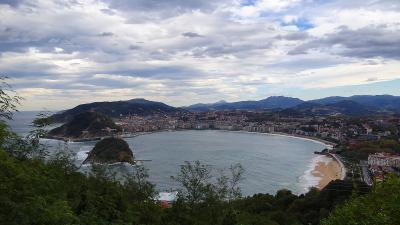 ピレネーの美しき自然と素朴な村々(76) サンセバスチャン モンテ・イゲルド展望台 上巻