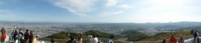 小樽から札幌へ(2)藻岩山に上り、開拓の村を見る