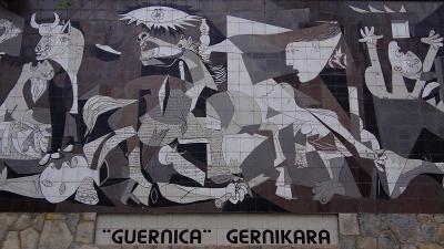 ピレネーの美しき自然と素朴な村々(84) ゲルニカ パブロ・ピカソの絵『ゲルニカ』