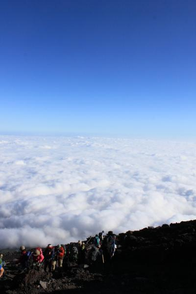 富士山に登る①~ 雲上の世界~ (百名山8座目)