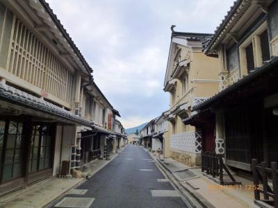 【2日目-3】 台風19号接近での愛媛~高知四万十 ☆休日なのに閑散としていた内子町