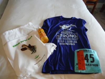 海外で初のハーフマラソン大会参加