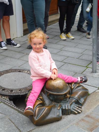 た~っぷり中欧の旅~忙しよくばり5か国周遊~【2014.9】<作成中> その32 スロバキア プラチスラバ街歩き