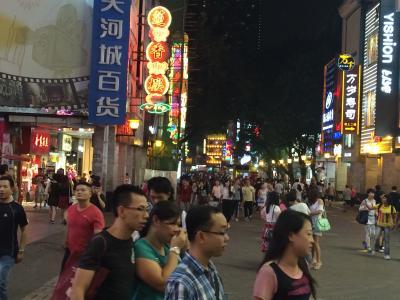 香港から広州、深セン出張 2