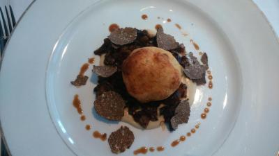 トリュフ、Truffe、トリュフのフルコース料理