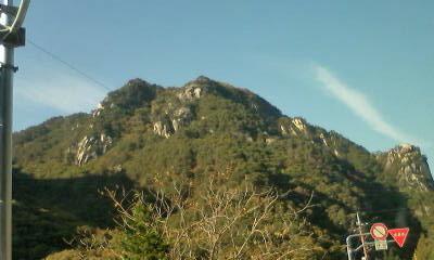 巨岩の景勝地「昇仙峡」は見事な眺めでした
