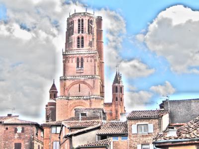 イタリア、フランス、スペイン勝手気ままな町歩きのたび その40 アルビ(1)